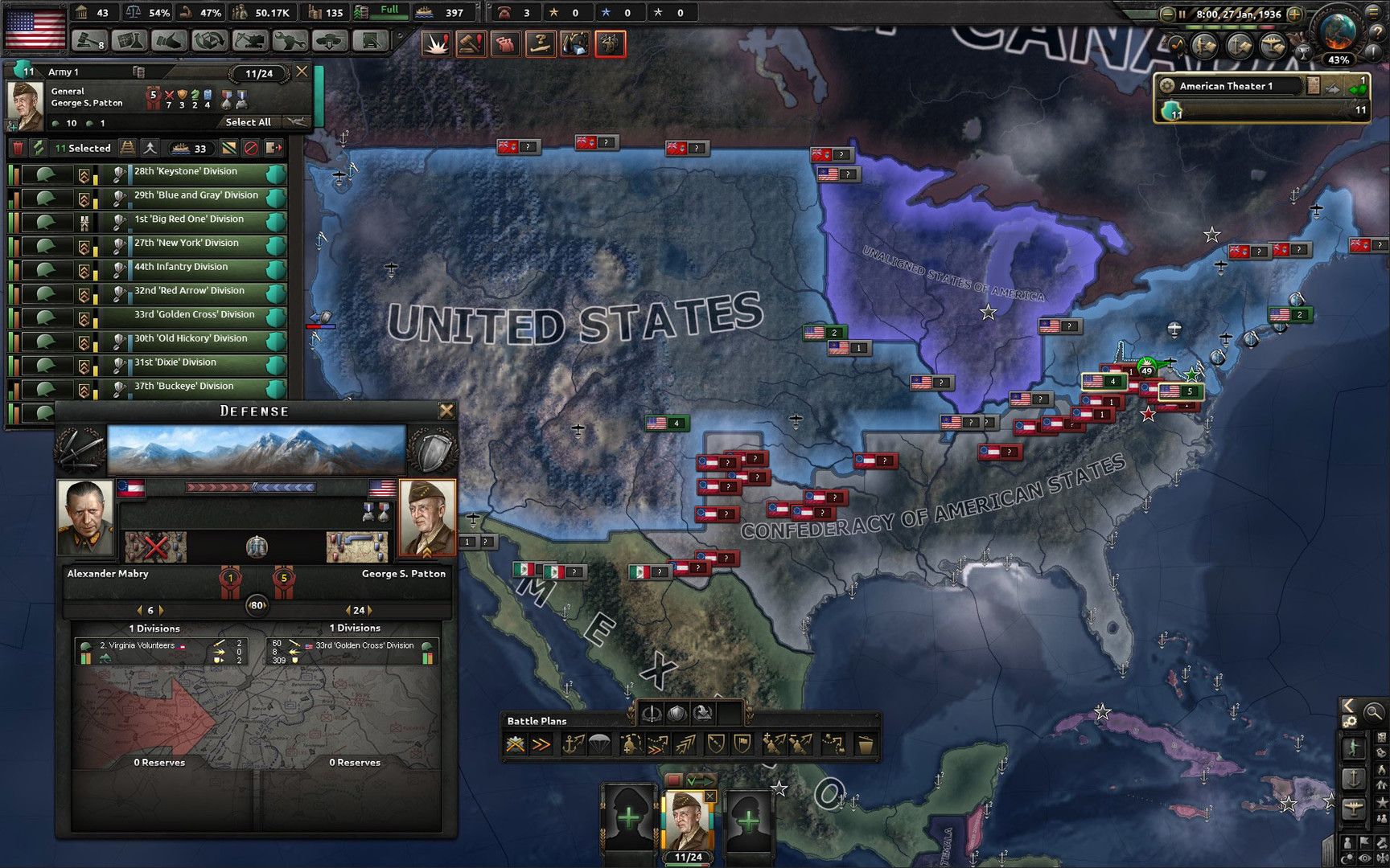 Hearts of Iron IV: Man the Guns DLC+GIFT (RU+CIS)