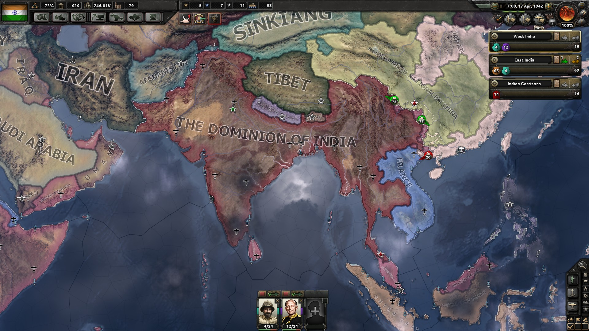 Hearts of Iron IV: Together for Victory+GIFT (RU+CIS) 2019