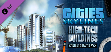 Cities: Skylines - High-Tech Buidings+GIFT (RU+CIS) 2019