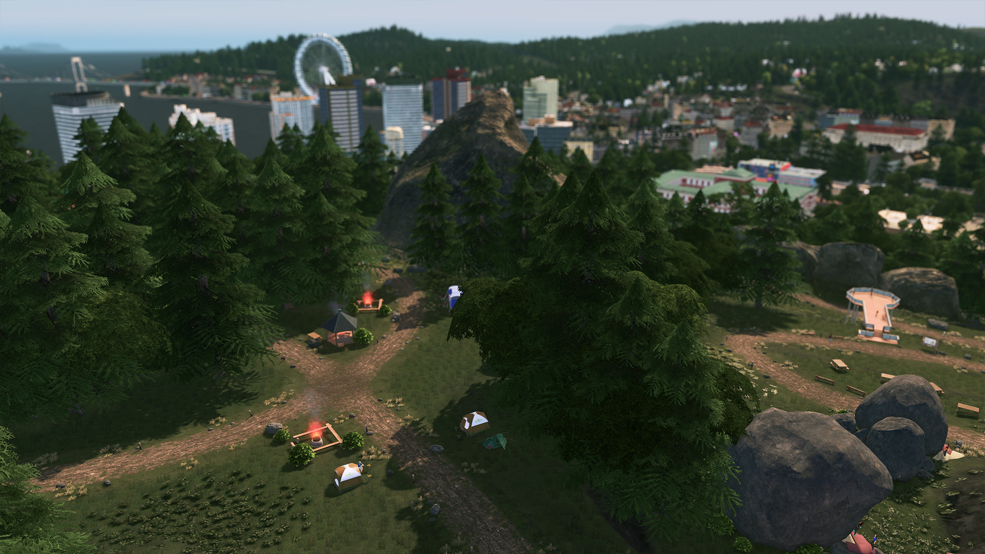 Cities: Skylines - Parklife Plus+GIFT (RU+CIS) 2019