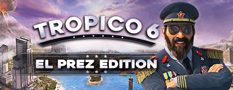 Tropico 6 El-Prez Edition. STEAM-key+GIFT RU+CIS