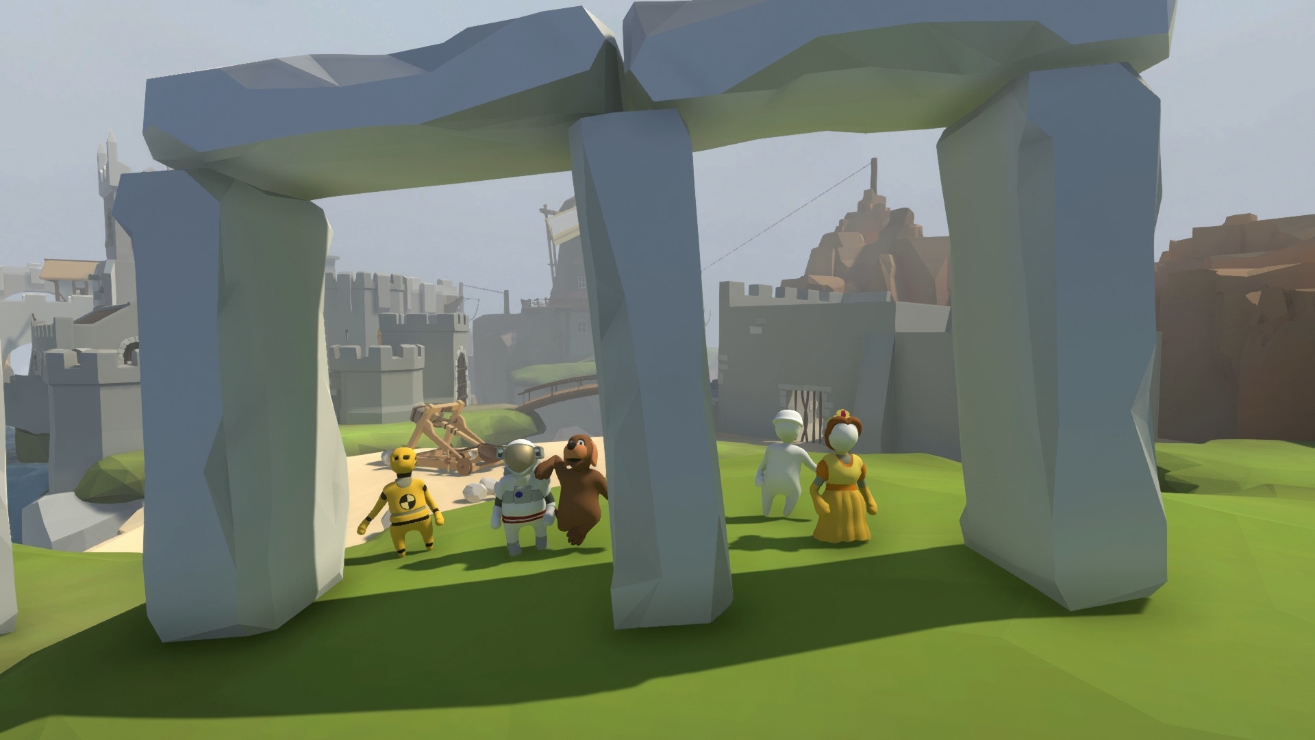 Human: Fall Flat. STEAM-key (RU+CISl)