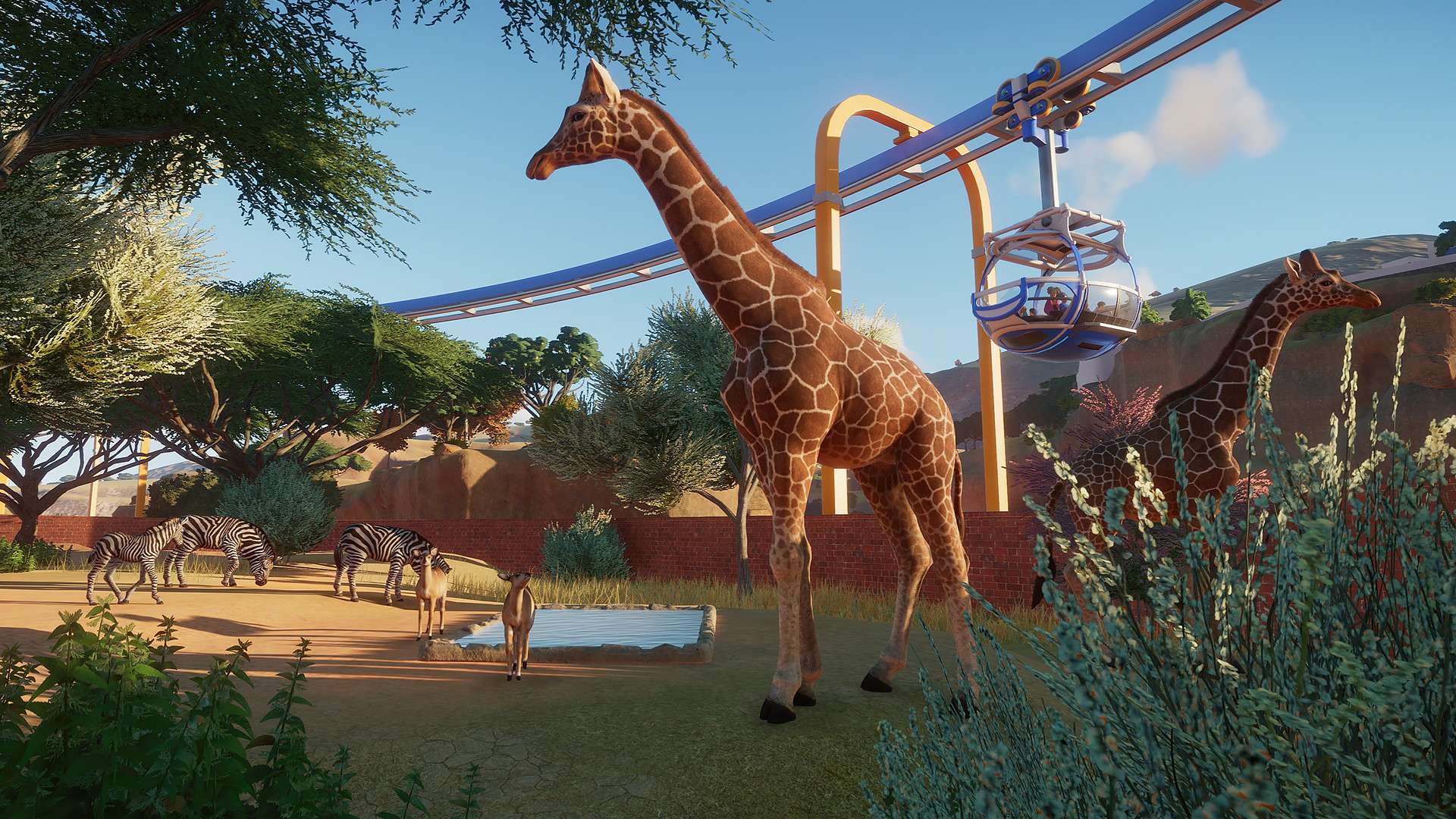 Planet Zoo. STEAM-key+GIFT (RU+CIS)