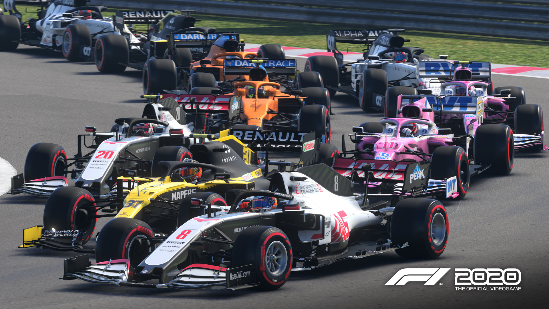 F1 2020 SEVENTY EDITION. STEAM-key+GIFT (RU+CIS)