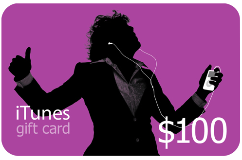 iTUNES GIFT CARD - $100 - (USA/SCAN) DISCOUNTS