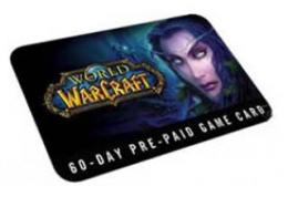 WORLD OF WARCRAFT 60-day Game Card (European version)