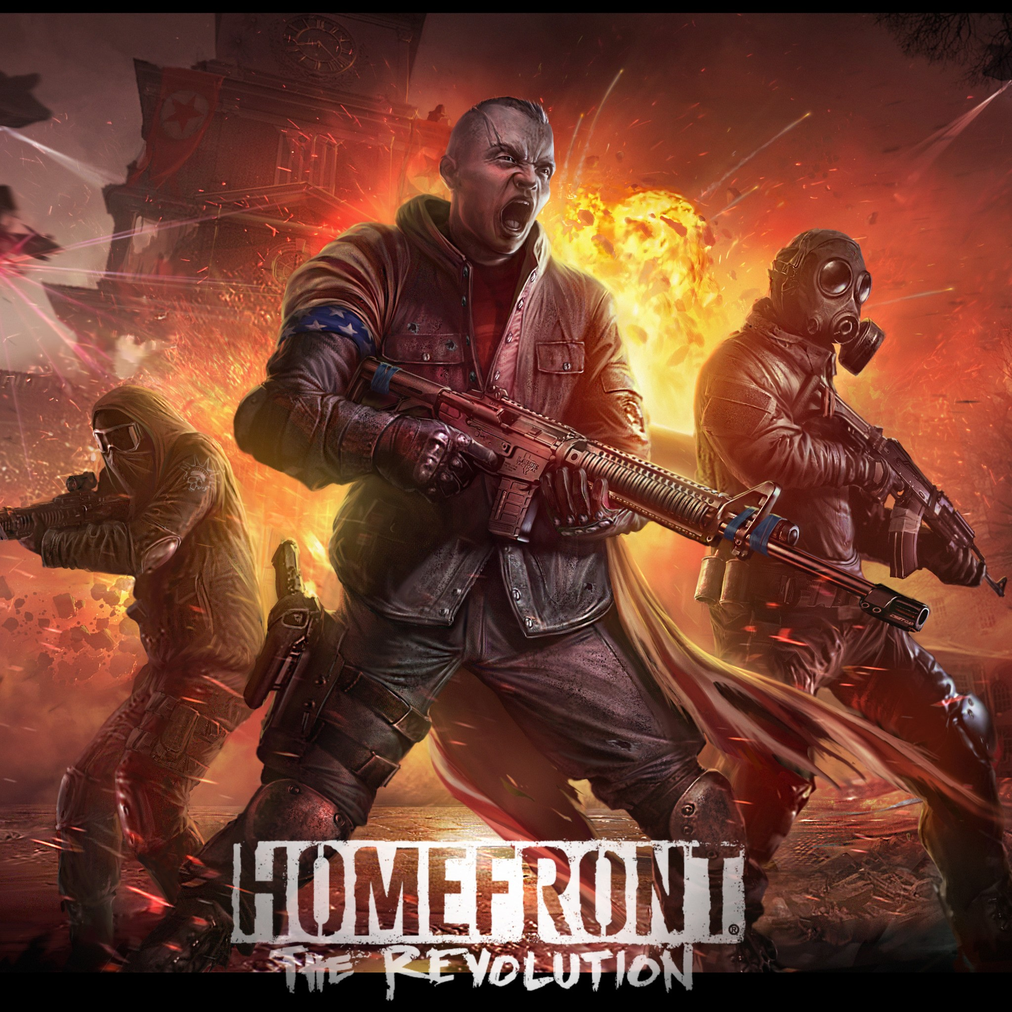 Homefront: The Revolution (Rent from 14 days) + Playkey