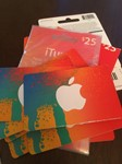 iTunes Gift Card $25 USA = Photo of the back side!SALE