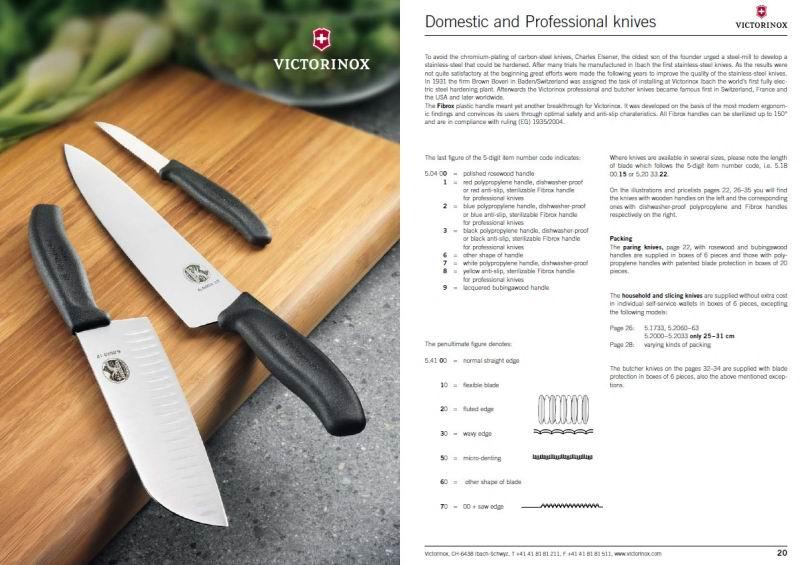 Victorinox - Catalogue 2011