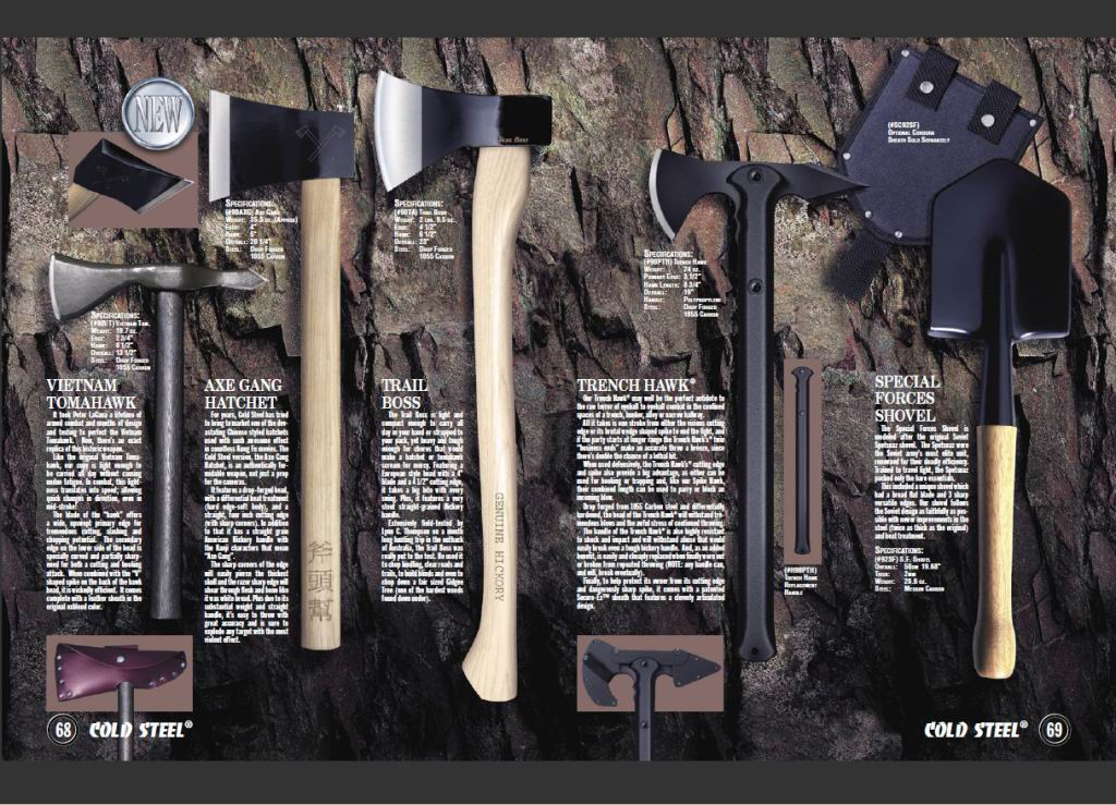 Knives Cold Steel - Catalogue 2011