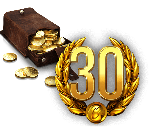 2500 gold + 30 days account premium (RU server)