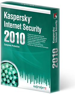 Kaspersky Internet Security 2010 на 1 год 1 ПК
