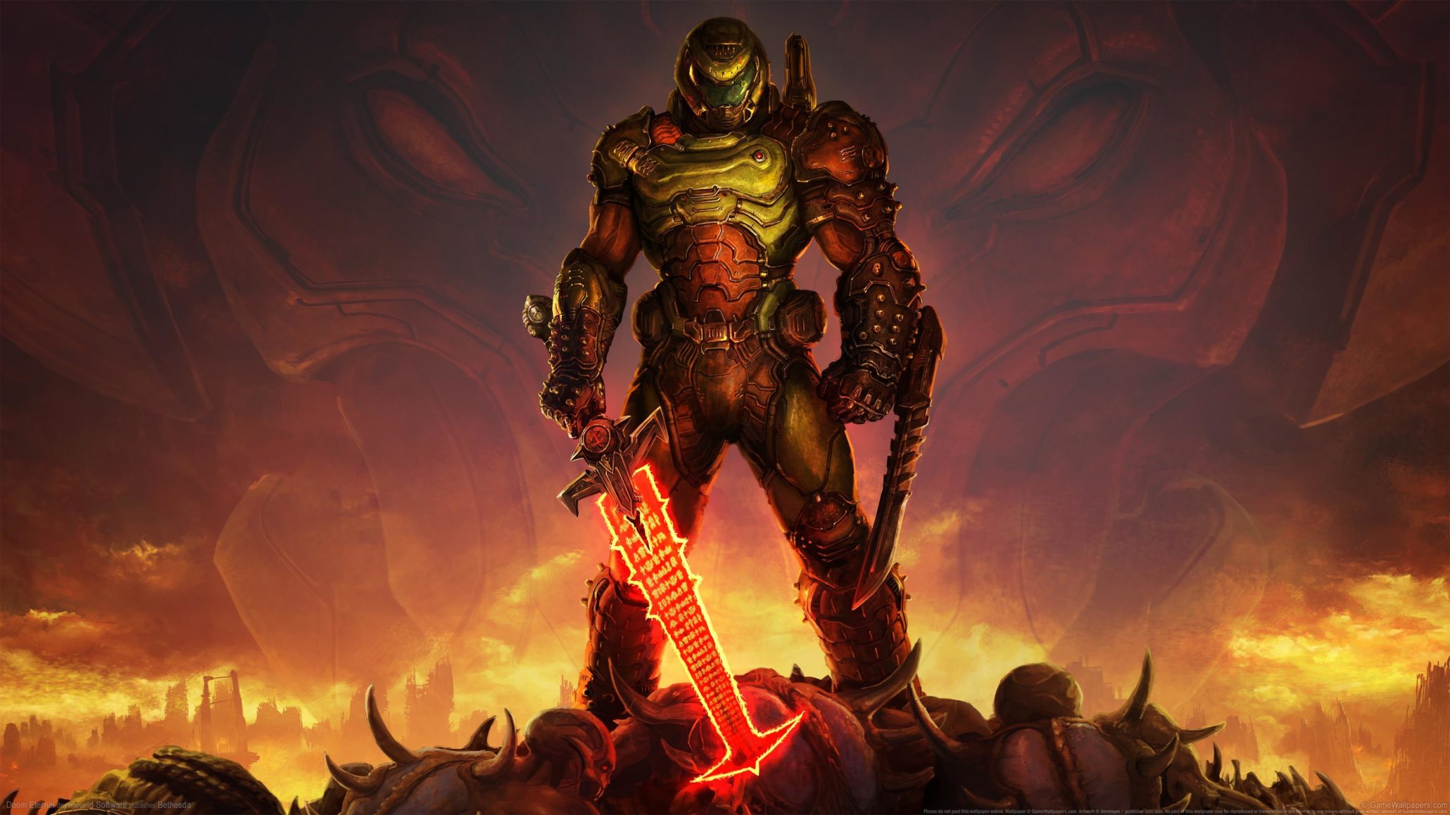 [Only Russian] Steam - DOOM Eternal Deluxe Edition