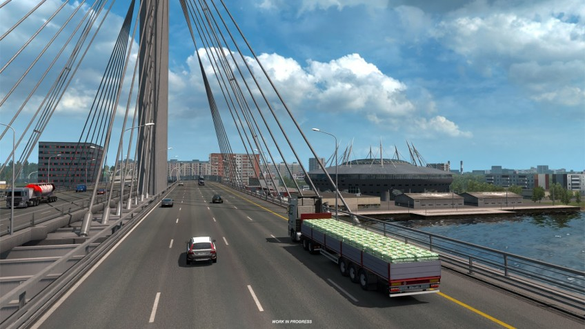 Buy Euro Truck Simulator 2 - Beyond the Baltic Sea