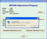 Epson L382, L386, L486 Adjustment Program