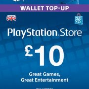 PlayStation Network £10 GBP (UK) Official key