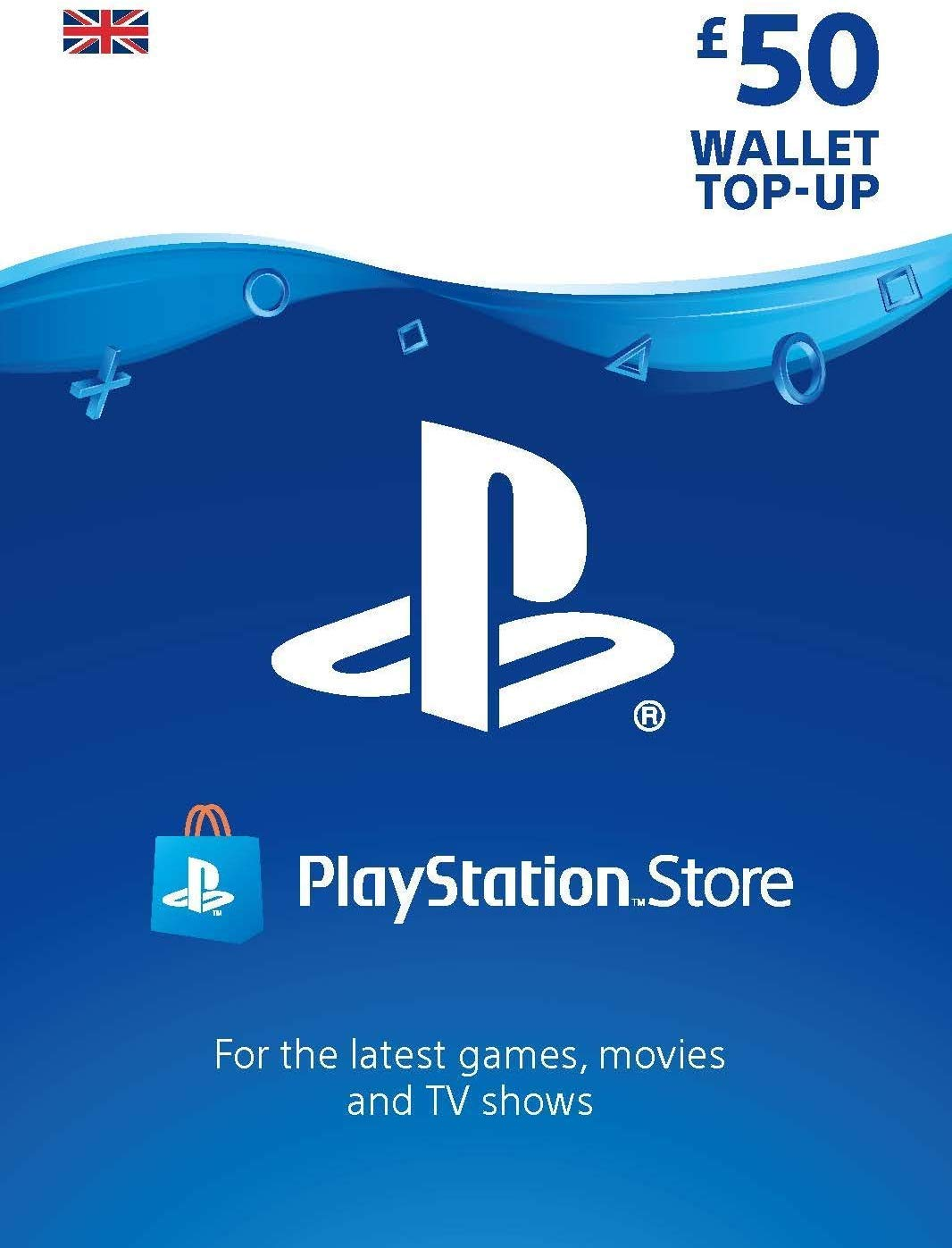 PlayStation Network £50 GBP (UK) Official key