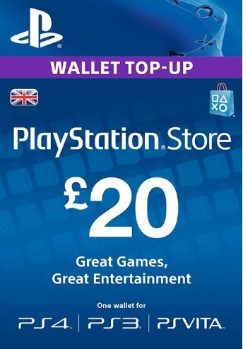 PlayStation Network £20 GBP (UK) Official key