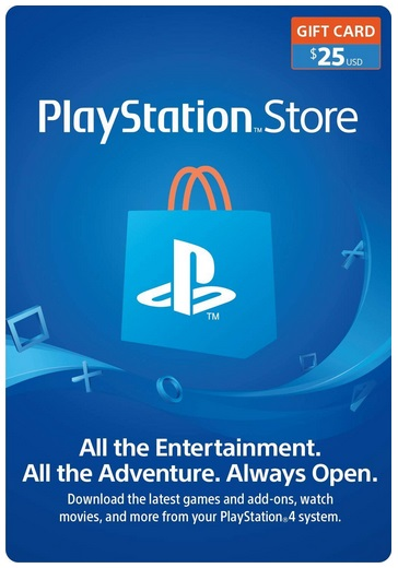 PlayStation Network (PSN) 25$ - USA [Official key]
