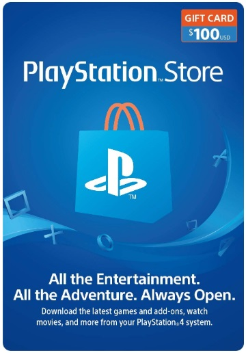 PlayStation Network (PSN) 100$ - USA [Official key] 2019
