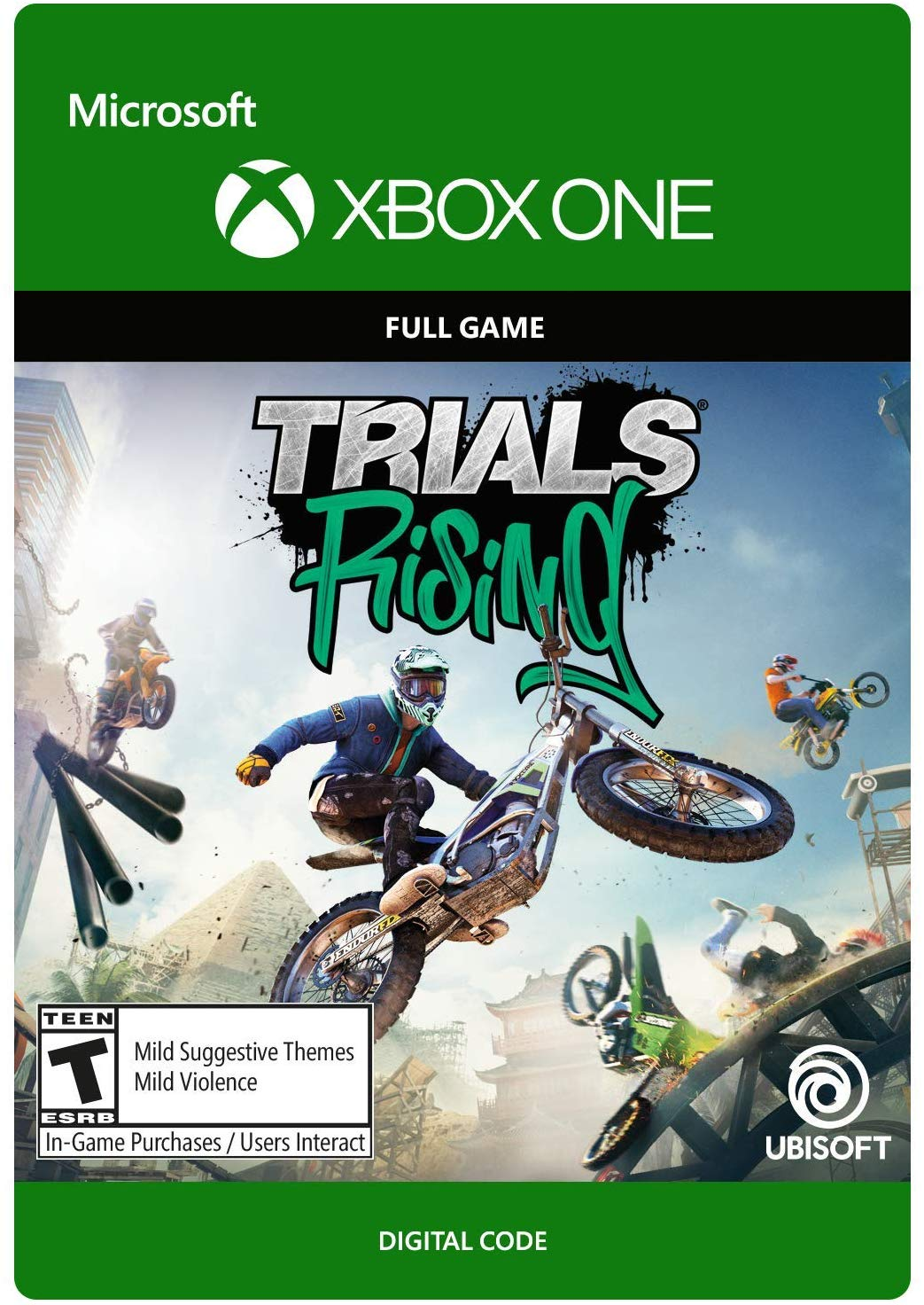Trials® Rising [XBOX ONE/KEY] REGION FREE 2019