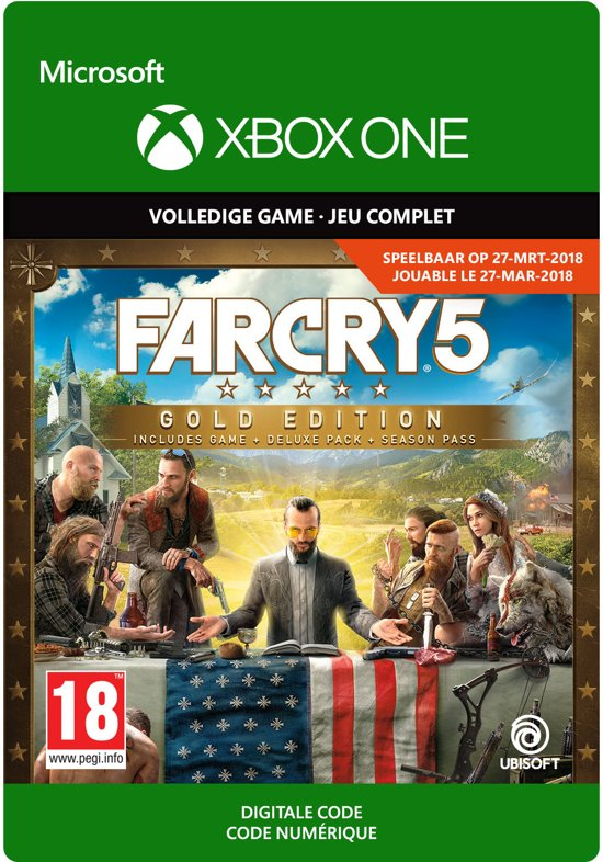 Far Cry 5 Gold Edition [XBOX ONE / KEY] GLOBAL 2019