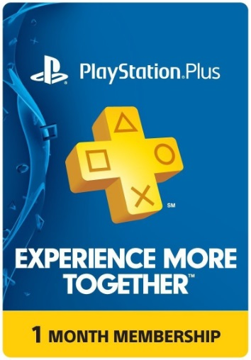 PlayStation Plus: 1 Month [US] Official key 2019