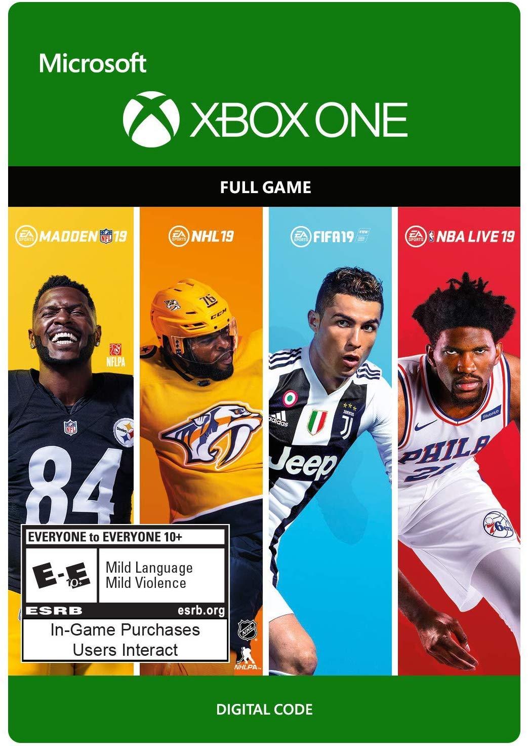 EA Sports 19 Bundle [XBOX ONE/KEY] REGION FREE 2019