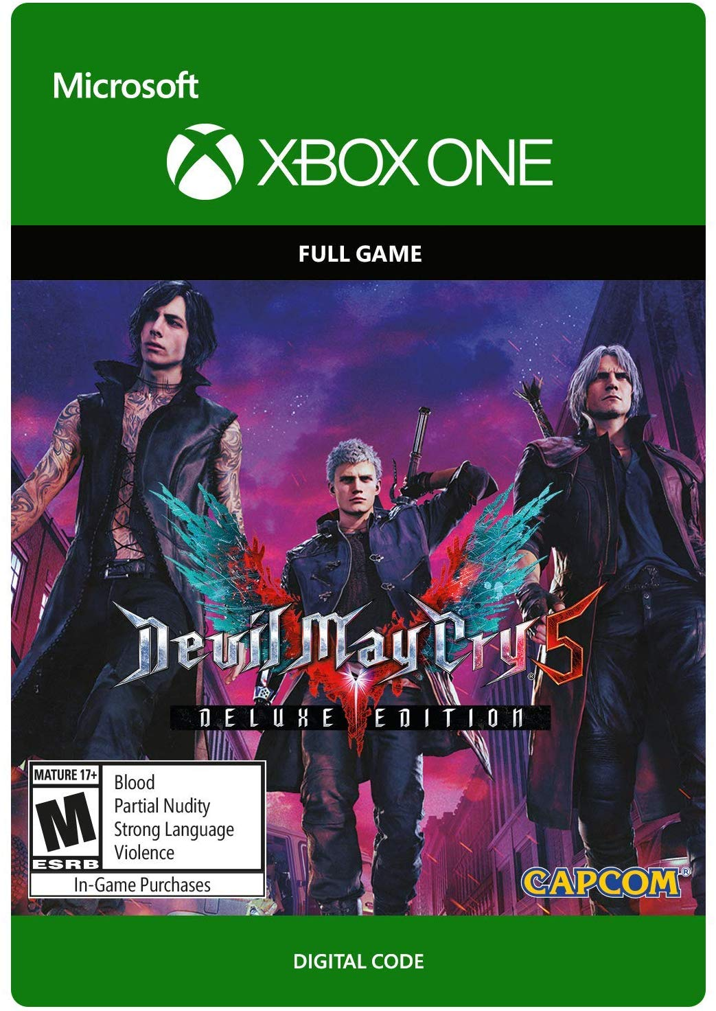 Devil May Cry 5:Deluxe Edition [XBOX ONE/KEY] GLOBAL 2019