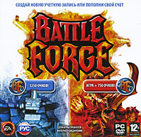 BATTLEFORGE: CD-KEY + 750 points / 1,250 POINTS-SCAN + GIFT