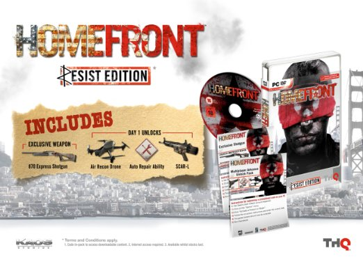 HOMEFRONT - STEAM - SCAN - CD-KEY - REGION FREE
