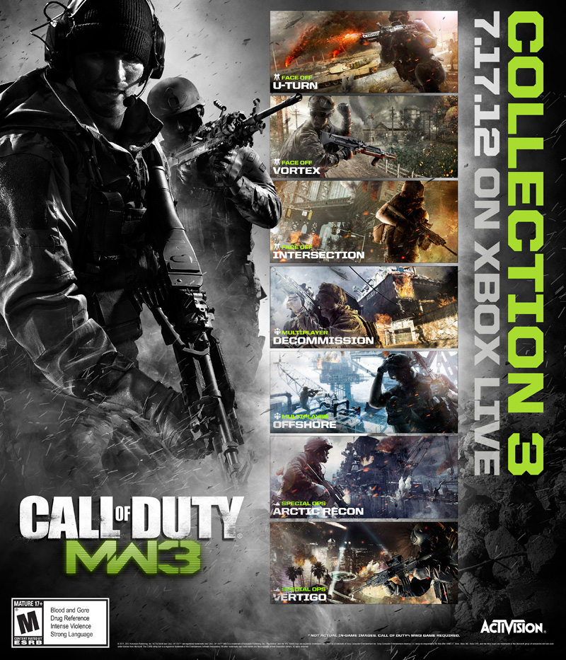 COD MW3 COLLECTION 3 - CHAOS PACK - STEAM + GIFT