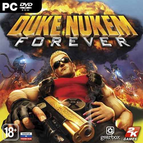 DUKE NUKEM FOREVER - STEAM - CD-KEY - СКАН - 1C