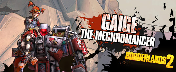 BORDERLANDS 2 - MECHROMANCER PACK - DLC + GIFT