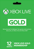 XBOX LIVE GOLD - 12 МЕС MONTH - XBOX 360 - ONE - ФОТО