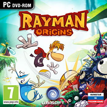 RAYMAN ORIGINS - REGION FREE - NEW DISK - CD-KEY