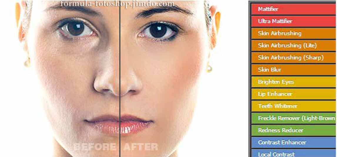 ACTIONS PHOTOSHOP 25 (EFFECTS FOR THE SKIN)