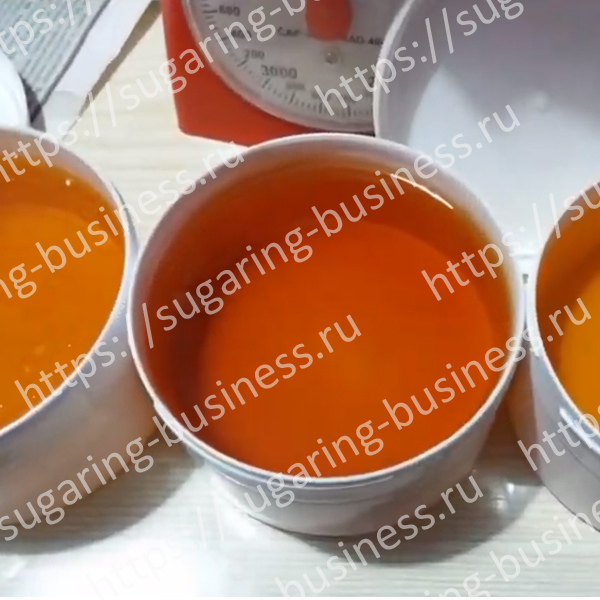 Course - Production medium paste for shugaring in home 2019