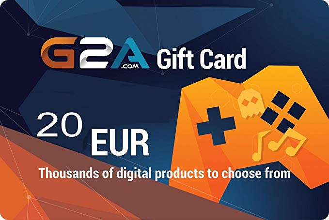 G2A Gift card 20 euro (Instant Delivery)