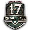 PUBG Mobile Royal Pass Upgrade Card (Season 17) + 70 UC