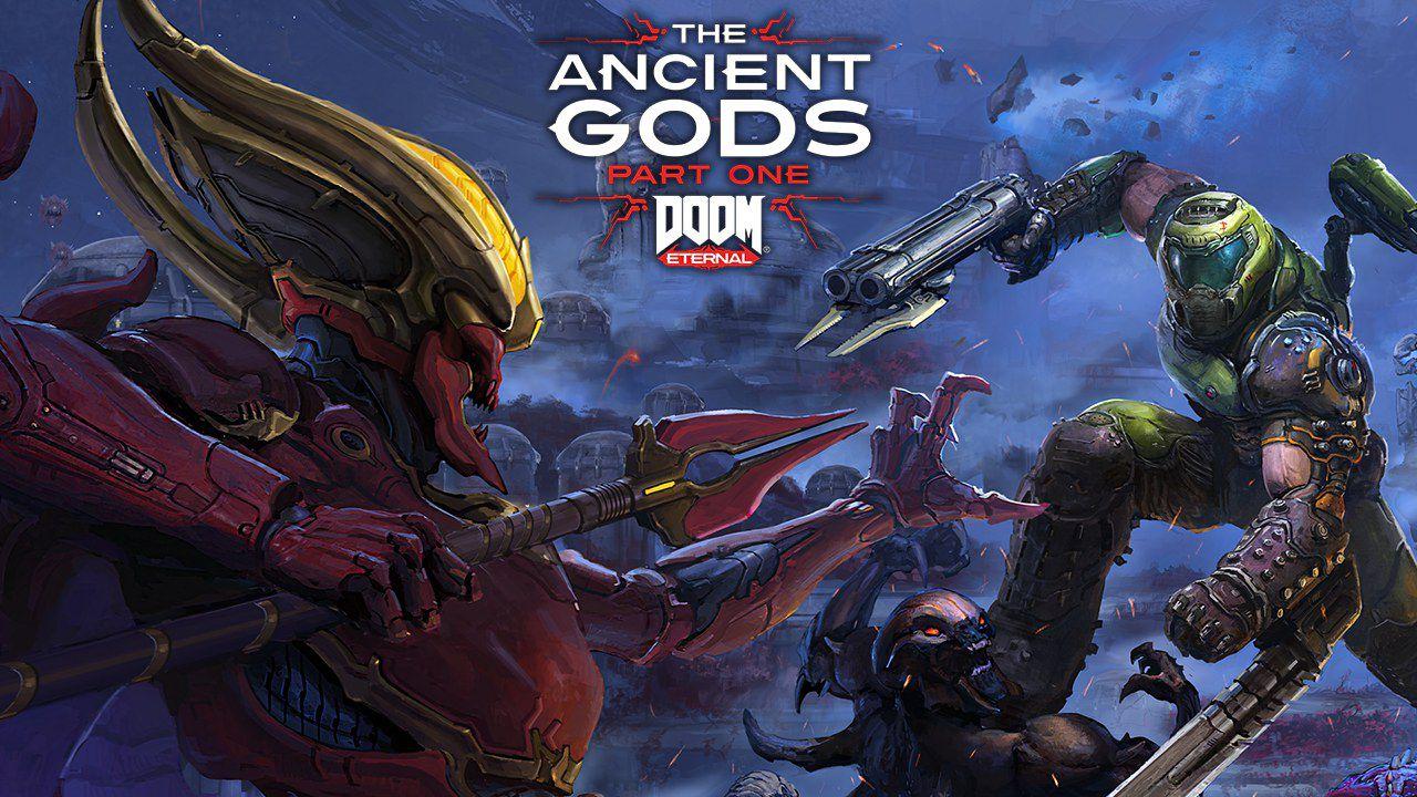 DOOM Eternal Deluxe + The Ancient Gods Part 1 (Оффлайн)