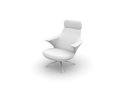 Model chair in the format 3D-max