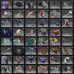 A random item up to$ 100 in DOTA 2