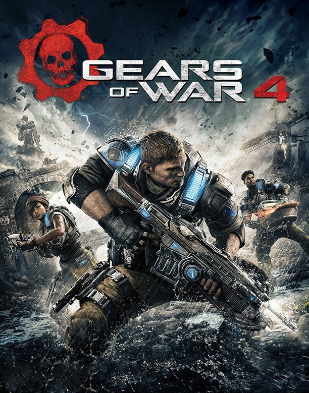 GEARS of WAR 1 & 4 +Gears 5 +MULTIPLAYER