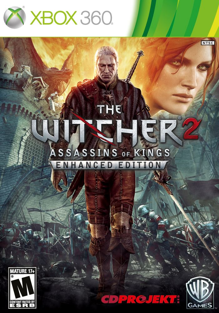 The witcher 2 + 1 game | XBOX 360 ACCOUNT