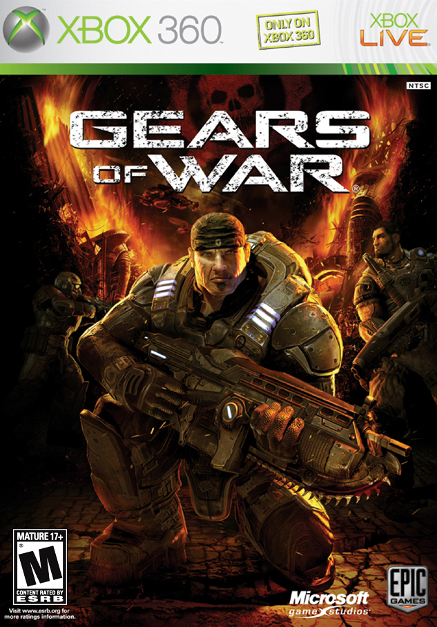 CODE | KEY | XBOX 360 / ONE | GEARS OF WAR