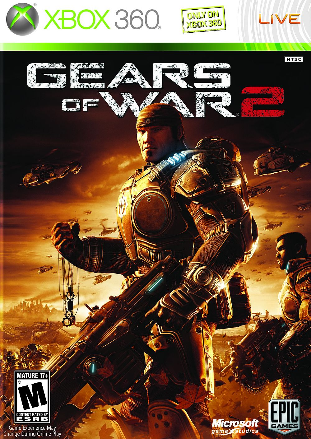 Gears Of War 2 + 11 Games |  XBOX 360 ACCOUNT