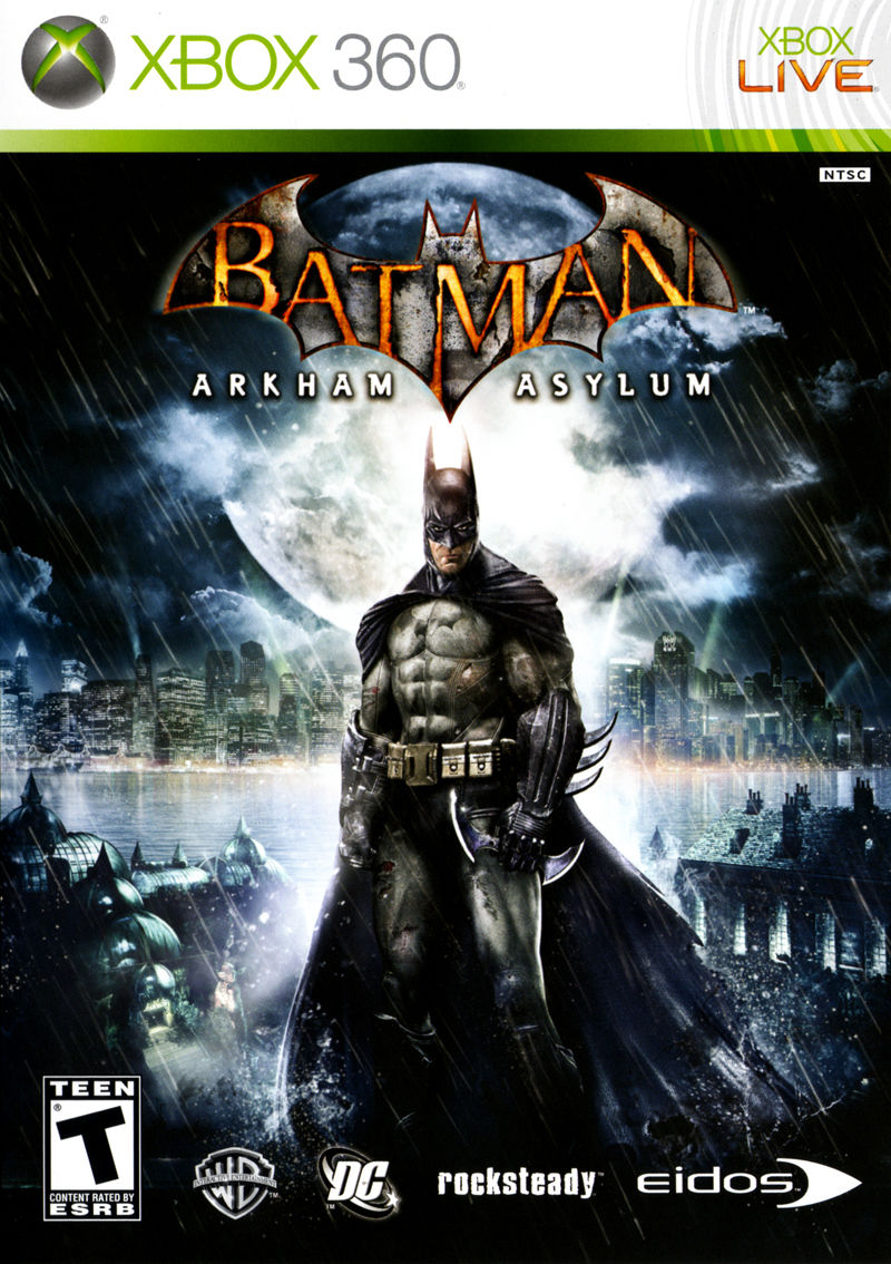 XBOX 360 | Batman Arkham Asylum + Final Fantasy + 2