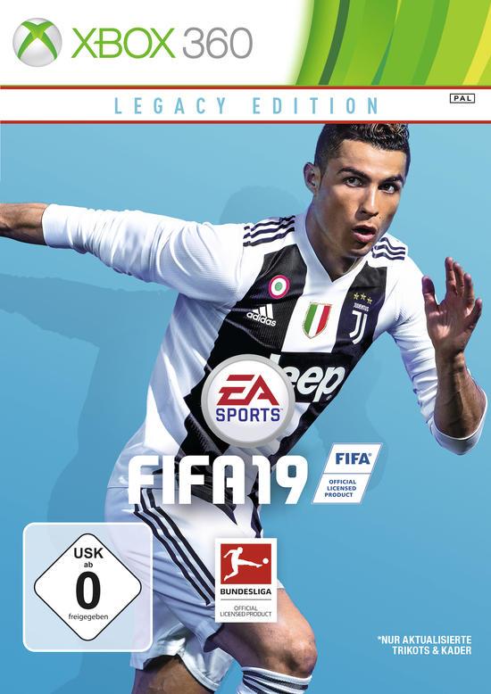 XBOX 360 |01|FIFA 19 Legacy Edition-FIFA 2019 | Общий