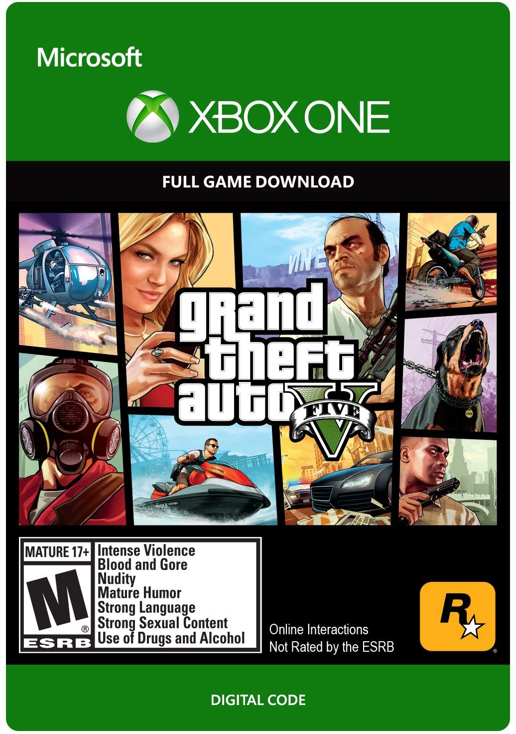 ✅ CODE - ARG | Grand Theft Auto V  | XBOX ONE